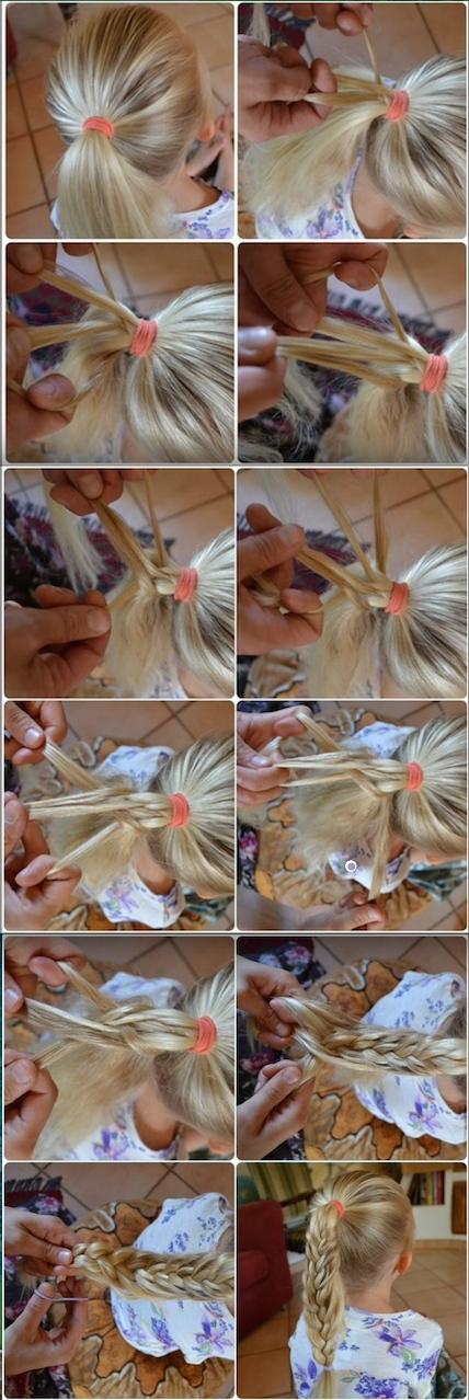 Mermaid braid | Jenni's hairdays